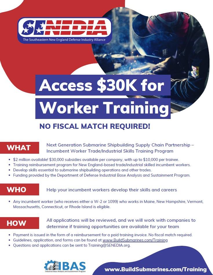 Submarine shipbuilding worker training